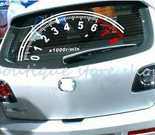 New Creative Odometer Tachometer Speedometer Rear windshield car stickers Decals