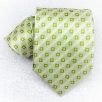Cravatta uomo seta verda larga Jacquard Made in Italy business / matrimoni