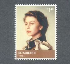 Realeza-la reina Isabel II-Galería de Arte Nacional retrato estampillada sin montar o nunca montada Gran Bretaña