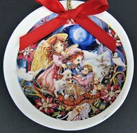 American Red Cross Christmas Holiday Ornament Vtg 1997 Wish You Angel Animals
