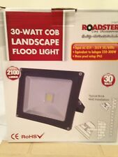 30W COB LANDSCAPE FLOOD LIGHT HALOGEN SENSOR LIGHT SECURITY FRONT/BACK/GARDEN