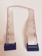 35CM 14 PIN IDE/ATA  MOTHERBOARD TO DRIVE RIBBON CABLE DATA TRANSFER -UK SELLER