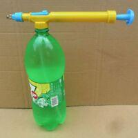 Convenient Small Juice Bottles Interface Water Pressure Pump Sprayer Head Garden