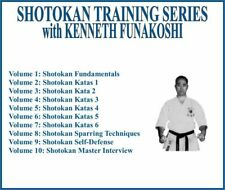 Shotokan Karate Training Series (10) Dvd Set katas sparring self defense