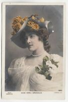 SYBIL ARUNDALE - Edwardian Actress - 1904 used real photo postcard