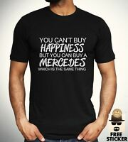 Mercedes Benz Funny T shirt Car Sport Racing Tee Mens Clothing Gift Top S - 3XL