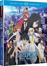 A Certain Magical Index Movie . The Miracle Of Endymion . Anime . DVD + Blu-ray