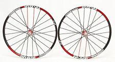 "Remerx Magic Al  26"" Red/Black MTB Racing Bike Wheels Shimano Sram"