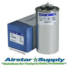 Trane Replacement 80/10 uf MFD x 370 VAC # 25L261 Genteq GE Dual Capacitor