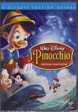PINOCCHIO : WALT DISNEY - DVD - édition spéciale 2 disques !! - NOUVEAU