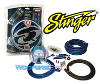 SQK4ANL SOUNDQUEST BY STINGER 4 GAUGE CAR AMP INSTALL WIRE POWER KIT AMPLIFIER