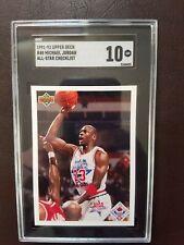 MICHAEL JORDAN Bulls 1991-1992 Upper Deck All -STAR  SGC 10 Gem Mint