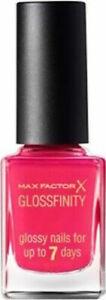 Max Factor Glossfinity Nail Polish Just Cheerful 104 Bright Pink FULL SIZE 11ml