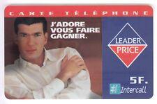 FRANCE TELECARTE / PHONECARD PREPAYEE .. 5F INTERCALL FOOTBALL ZIDANE 12/99 NEUF