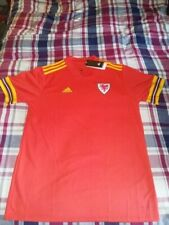 WALES HOME SHIRT 2020, LARGE IN SIZE, IN EXCELLENT CONDITION