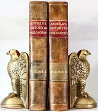 1791 ENFIELD'S HISTORY OF PHILOSOPHY FIRST EDITION WITH LARGE FOLD OUT TABLE