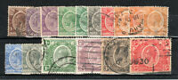 KUT - Kenya and Uganda 1922-27 values to 5s mainly FU CDS
