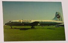 Geminair Airlines Bristol Britannia 253 Airplane Postcard
