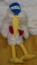 "Vlasic Pickle STORK MASCOT CHARACTER 24"" Stuffed Animal"
