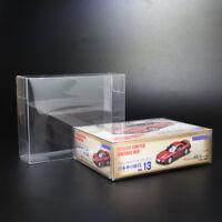 10pcs Free Shipping PVC BOX For TOMICA TOMYTEC ~ SIZE 4.3X4.1X8.2 CM
