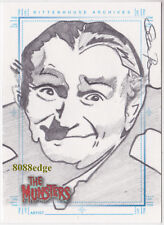 "2005 THE MUNSTERS HAND-DRAWN SKETCH SKETCHAFEX CARD ""GRANDPA"" BY SEAN PENCE"