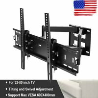 Full Motion Articulating TV Wall Mount for 37-75inch LED LCD Plasma Screen HDTV