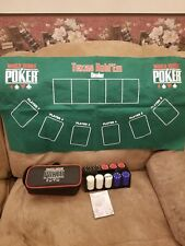 - World Series Of Poker WSOP Poker Chip Set of 200. With bag but no cards