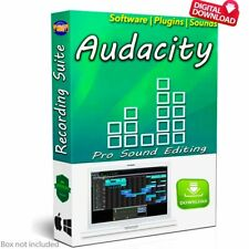 NEW Audacity 2019 (Professional Audio Music Editing-Recording Software)-