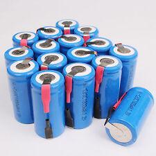 Hot 16PCS Sub C SC 1.2V 1800mAh Ni-Cd NiCd Rechargeable Battery Batteries Blue