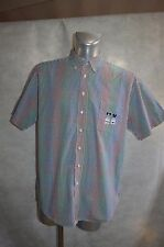 CHEMISE DONALDSON BRODE MICKEY DISNEY  TAILLE L DRESS SHIRT/CAMISA/CAMICIA TBE