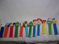 PEZ Disney Figures Buzz Lightyear Tigger Wall-e Toy Story Woody Dinosaur Cars