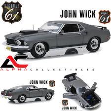 "HIGHWAY 61 18016 1:18 1969 FORD MUSTANG BOSS 429 ""JOHN WICK"" 2014"