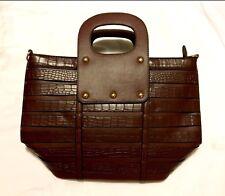 Womens Handbag tote Purse 15x15x6 Beautiful Cofee color