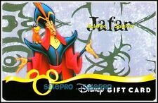 DISNEY 2010 USA HORROR NEGATIVE CHARACTORS * JAFAR * COLLECTIBLE GIFT CARD