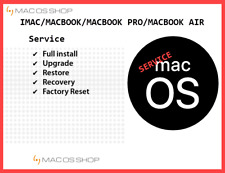 ⏩ Apple Mac OS MacOS X SERVICE INSTALLER HARDWARE SOFTWARE REPAIR