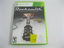XBOX 360 GAME - ROCKSMITH AUTHENTIC GUITAR GAMES - FREE SHIPPING
