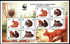 Slovenia 2007 ☀ Red Squirrel Animals Fauna MSS ☀ Unused MNH **