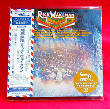 Rick Wakeman Journey To The Centre Of The Earth JAPAN SHM MINI LP CD UICY-94236