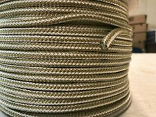 1/4 x 300 Double Braid gold/white nylon line