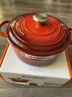 Le Creuset 4.2 L Multifunction Oval Oven with Grill Lid Volcanique Flame Orange