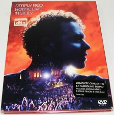 Simply Red : Home - Live In Sicily--- (DVD, 2004)