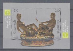 Österreich   Block 48  Kunst Historisches Museum   **  (mnh)