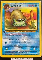 Carte Pokemon AMONITA 52/62 Commune Fossile Wizard EDITION 1 FR