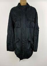 Karen Millen Womens Dark Green 100% Silk Coat UK 10