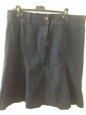 Per Una Dark Denim Skirt size 18