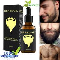 30ml Men's Male Natural Beard Growth Essential Oil Grower Boost Beard Hair Care