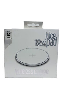 Juice 10W Power Pad Wireless Charger-Compatible With iPhone, Samsung(Brand New)
