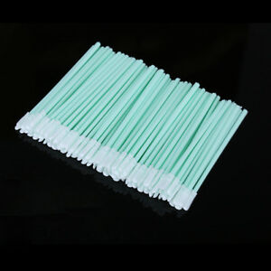200pcs/lot Dust-Free Cotton Swab Fiber Cleaning Tools Optical Fiber Cleaning Rod