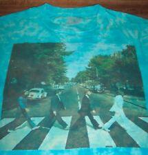 THE BEATLES Tie-Dye ABBEY ROAD T-Shirt 2XL XXL NEW