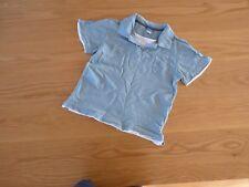 John Lewis - Boys - Polo T-Shirt - Duck Egg Blue - Age 7-8yrs